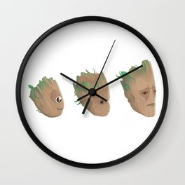 Evolving Faces Wall Clock