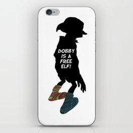 Dobby is a free elf!  iPhone Skin