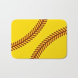 Fast Pitch Softball Bath Mat