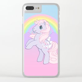 g1 my little pony lickety split Clear iPhone Case