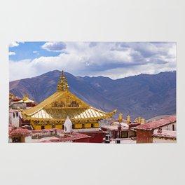 Tibet: Ganden Buddhist Monastery Rug