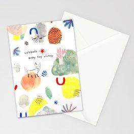 Celebrate every tiny victory Stationery Cards