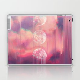Moontime Glitches Laptop & iPad Skin