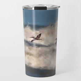Between The Waves Travel Mug