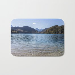 Alpsee lake Bath Mat