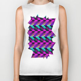 Dark Purple Biker Tank