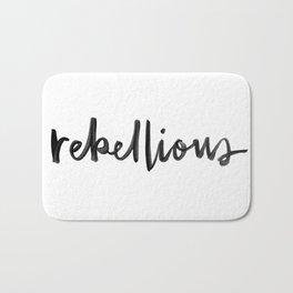 Rebellious Bath Mat