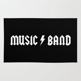 Generic Music Band Quote Rug