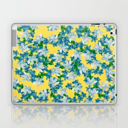 Summer Flowers Yellow Laptop & iPad Skin