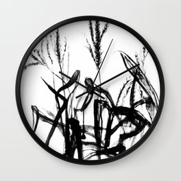 Cornstalk Wall Clock