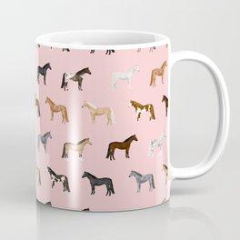 horses farm animal pet gifts Coffee Mug