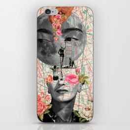 my muse (Frida Kahlo) iPhone Skin