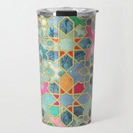 Gilt & Glory - Colorful Moroccan Mosaic Travel Mug
