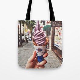 Purple ice-cream Tote Bag