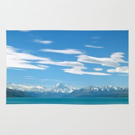 Mount Cook Cloudscape Rug