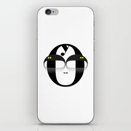 Bodoni Boy iPhone Skin
