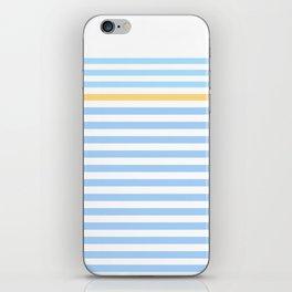Simple skyblue iPhone Skin