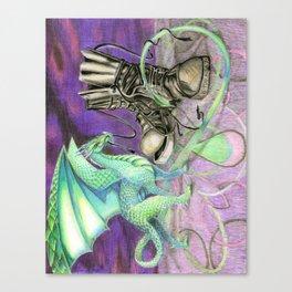mes souliers Canvas Print
