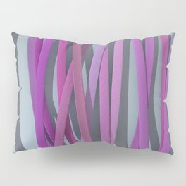 ribbon paper background magenta Pillow Sham
