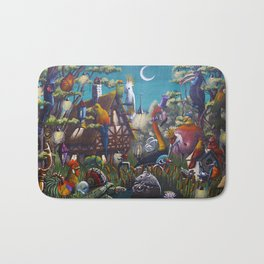 Magical Swamps Bath Mat