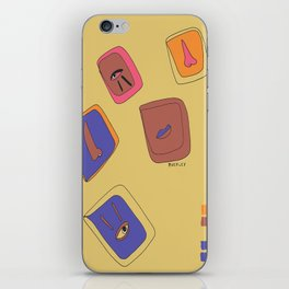 Pieces of Meces iPhone Skin