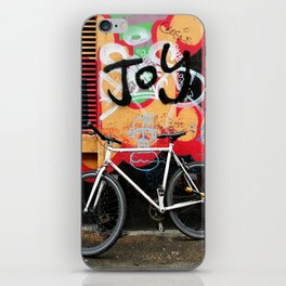 Joy & bike iPhone Skin