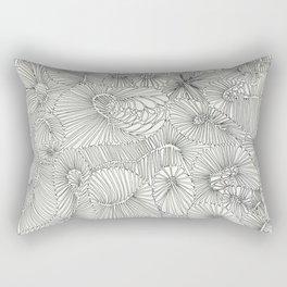 Brain Coral Rectangular Pillow