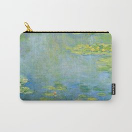 "Claude Monet ""Water Lilies"" (10) Carry-All Pouch"