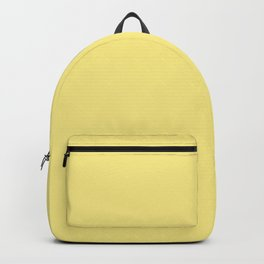 Daffodil Yellow - Solid Color Collection Backpack