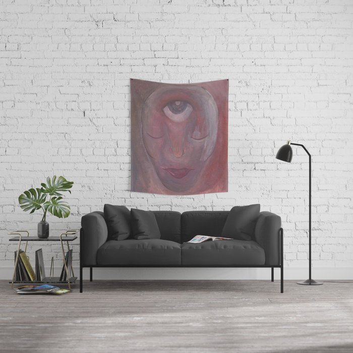 Reds Wall Tapestry