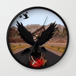 Russell Crow Wall Clock