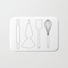 Baker Baking Tools - White Bath Mat