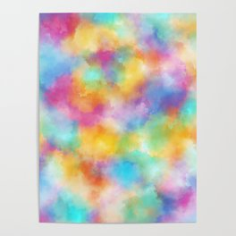 abstract rainbow posters society6