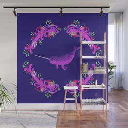 Narwhal: Unicorn of the Sea Wall Mural