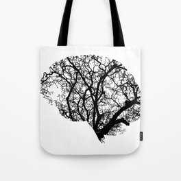 Brain Tree Tote Bag