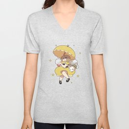 Bee and Puppycat Unisex V-Neck