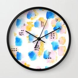 170327 Watercolor Scandic Inspo 9 Wall Clock