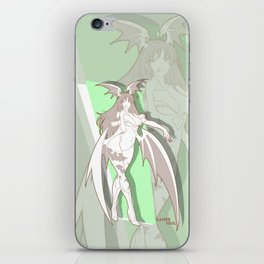 Gamer Soul Fighter Line - Morrigan iPhone Skin