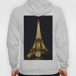 Golden Eiffel Tower Hoody