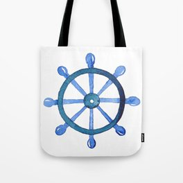 Navigating the seas Tote Bag