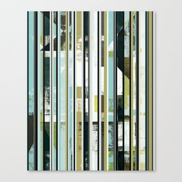 modern mid century, Graphic art, neutral colors, geometric art, circles, modern painting, abstract Canvas Print