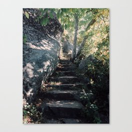 Stairs to Sharp Top Canvas Print