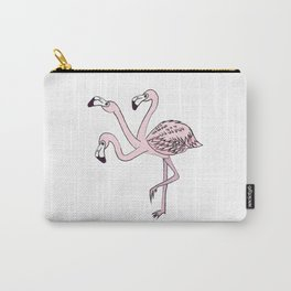 Three flamingo heads are better than one Carry-All Pouch