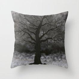 Through The Mist Throw Pillow