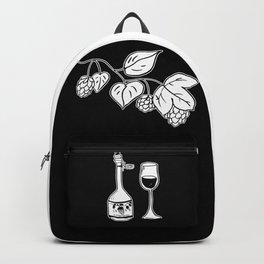 Alcohol Doodles Backpack