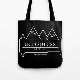 AeroPress på tur Tote Bag