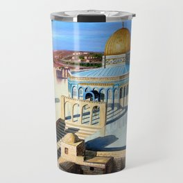 Dome of the rock-JERUSALEM Travel Mug