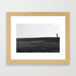 Alone. Framed Art Print