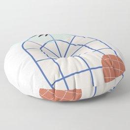 // Royal Gardens 02 Floor Pillow