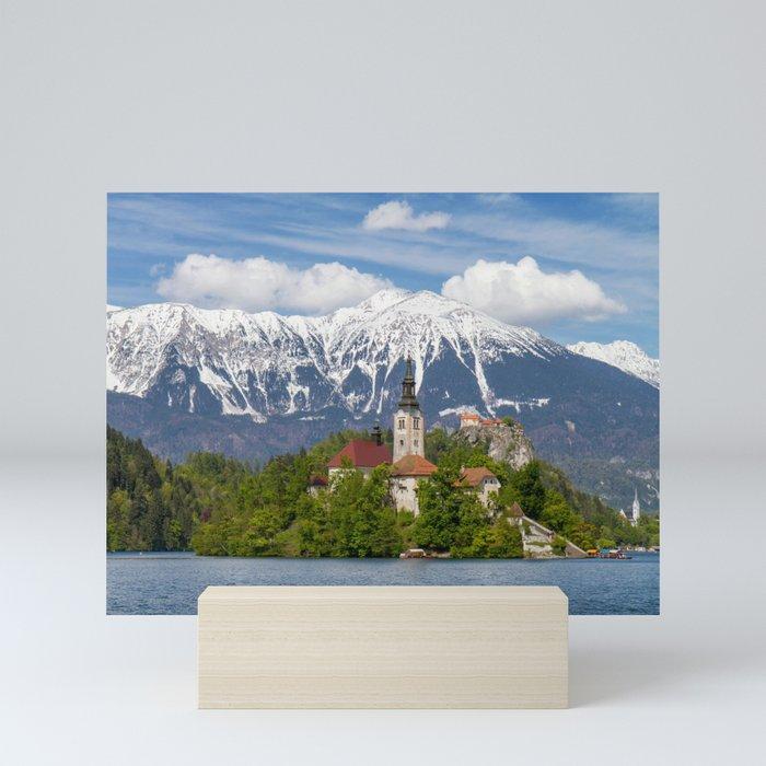 Bled Landscape Mini Art Print